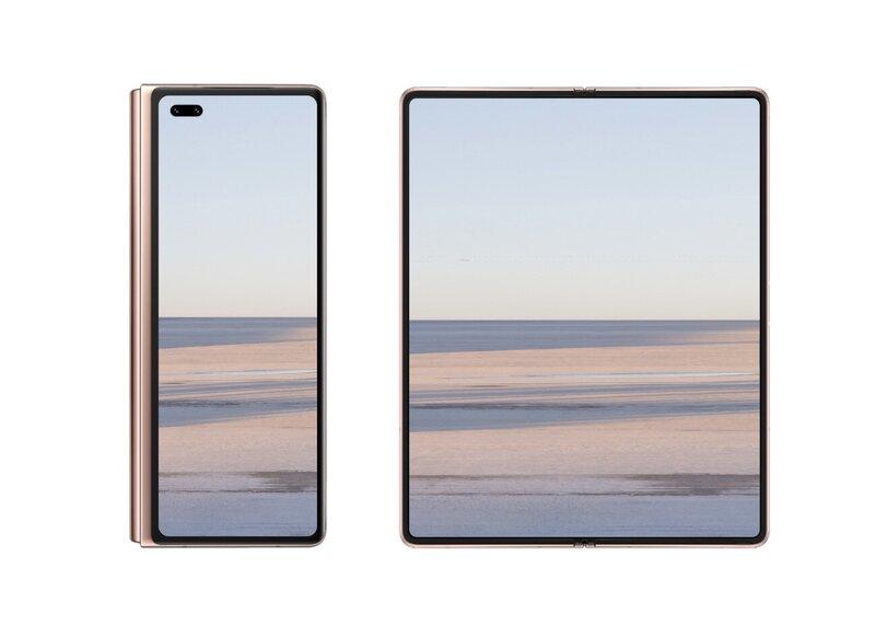 Идея Samsung оказалась удачной: новый складной смартфон Huawei будет копией Galaxy Z Fold 2