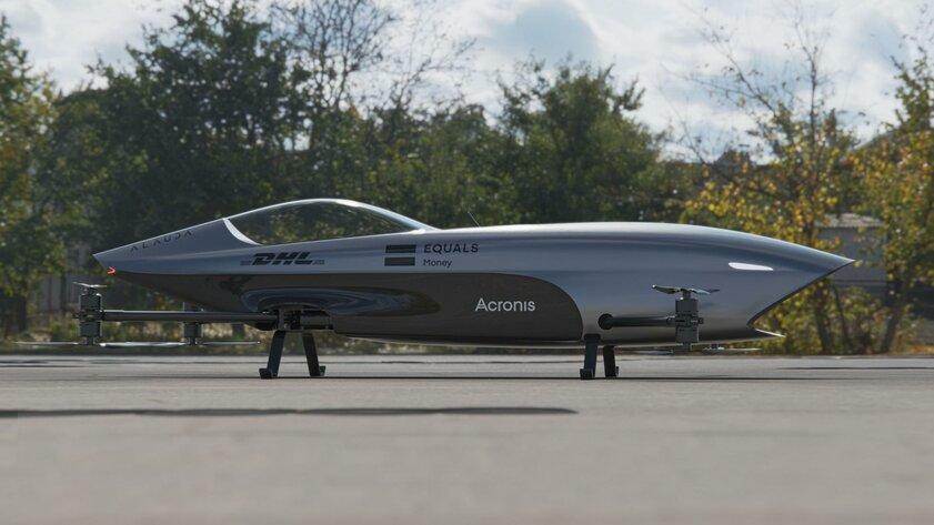 Знакомьтесь, Airspeeder Mk3— первый летающий гоночный болид