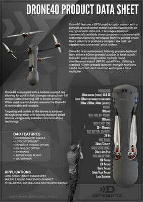 Британская армия тестирует боевые нано-дроны, выпускаемые изгранатомёта