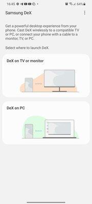 Samsung DeX теперь работает вбеспроводном режиме наПК, но нена всех смартфонах