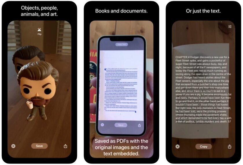 Это приложение делает стикеры изреальных объектов через камеру. Я проверил, оно работает