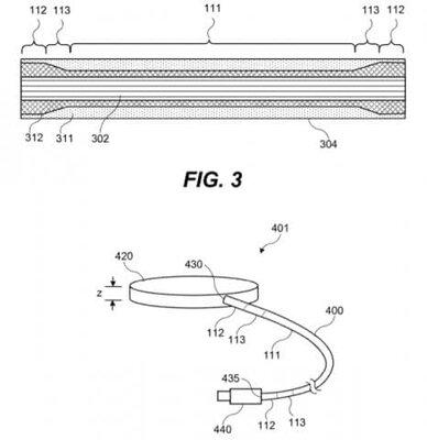 Странное решение: Apple запатентовала долговечный кабель длязарядки