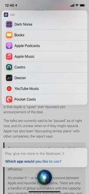iOS 14.5 позволит устанавливать сторонние музыкальные сервисы поумолчанию дляSiri
