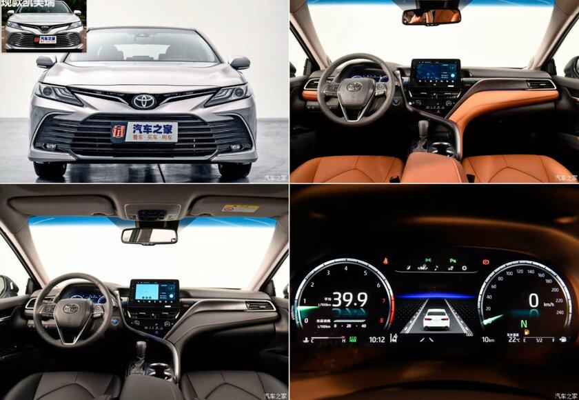 Toyota представила новую Camry: двигатель на3,5 литра пока подвопросом