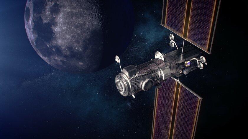 SpaceX отправит первые модули дляокололунной станции Gateway