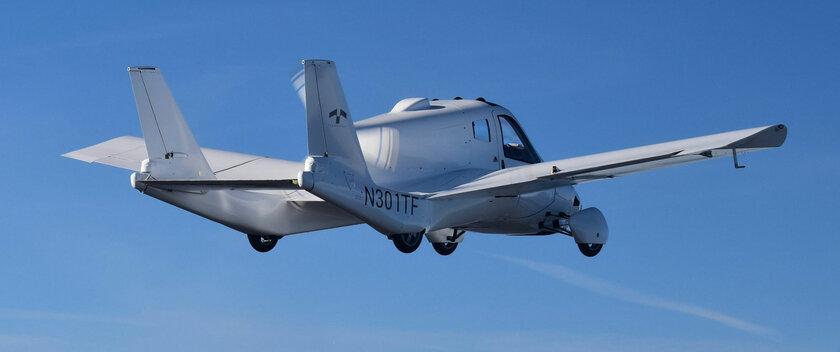 Дочерняя компания Geely оформила летающий автомобиль: унего совсем небольшие крылья
