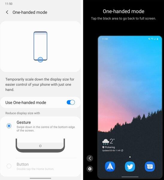 В Android 12 появится режим управления одной рукой: реализация странная
