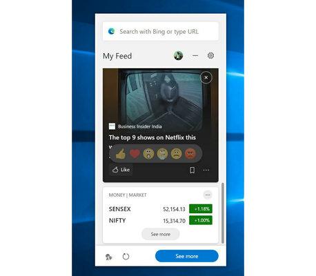 Microsoft Edge ждёт крупное обновление: поиск повкладкам ивиджеты дляWindows 10