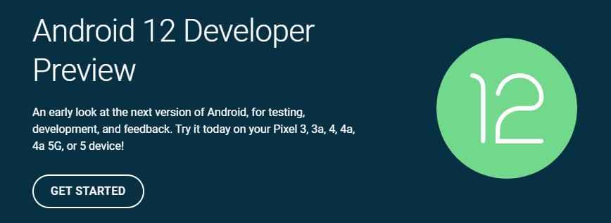 Google выпустил первую предварительную версию Android 12