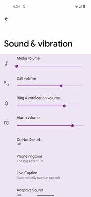Android 12 будет менять цвет оформления системы всоответствии сфоновой картинкой