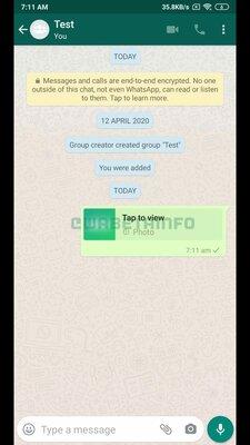 Разработчики WhatsApp наконец взялись заисчезающие фото