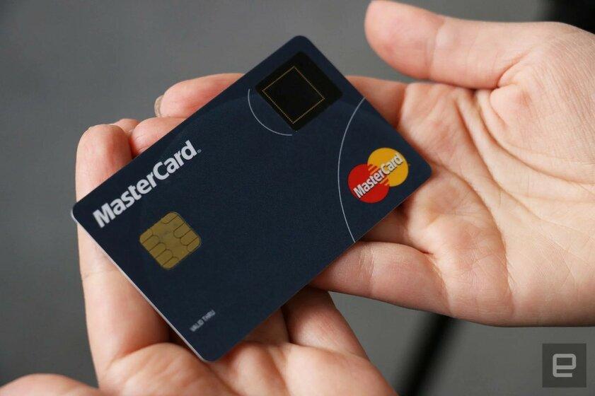 Samsung совместно сMastercard выпустит платёжную карту со сканером отпечатков пальца