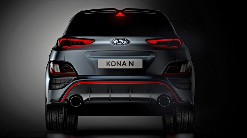 Hyundai показала дизайн дерзкого кроссовера Kona N
