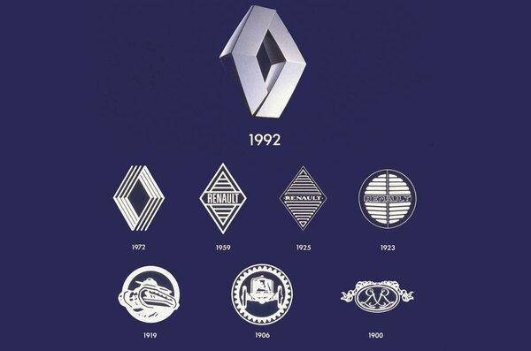 У Renault новый логотип: к2024 году он будет увсех моделей компании