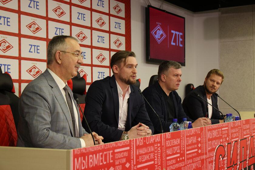 ZTE точно продолжит спонсировать ФК «Спартак-Москва» досередины 2022 года
