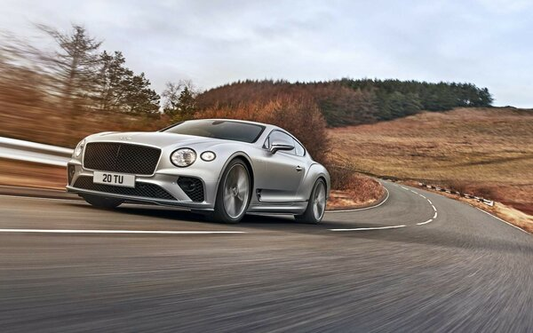 Выглядит потрясающе! Bentley официально представила Continental GT Speed