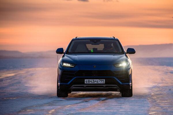 Lamborghini Urus установил мировой рекорд скорости приезде польду