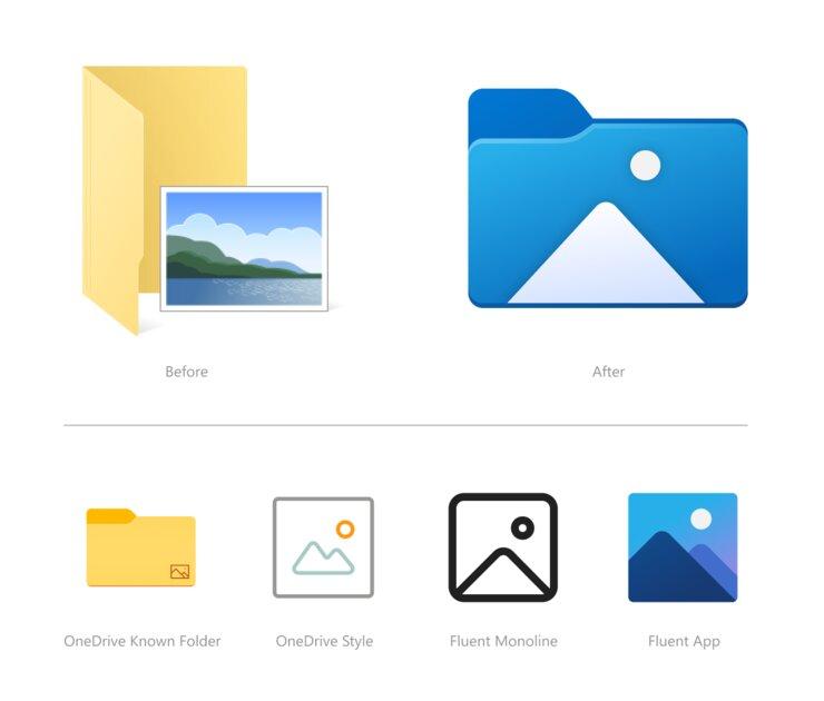 Наконец-то редизайн: «Проводник» Windows 10 получил полностью новые иконки