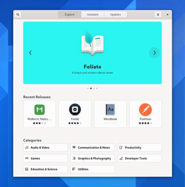 Вышел GNOME 40: обновлённый дизайн, горизонтальная док-панель ипрочие нововведения