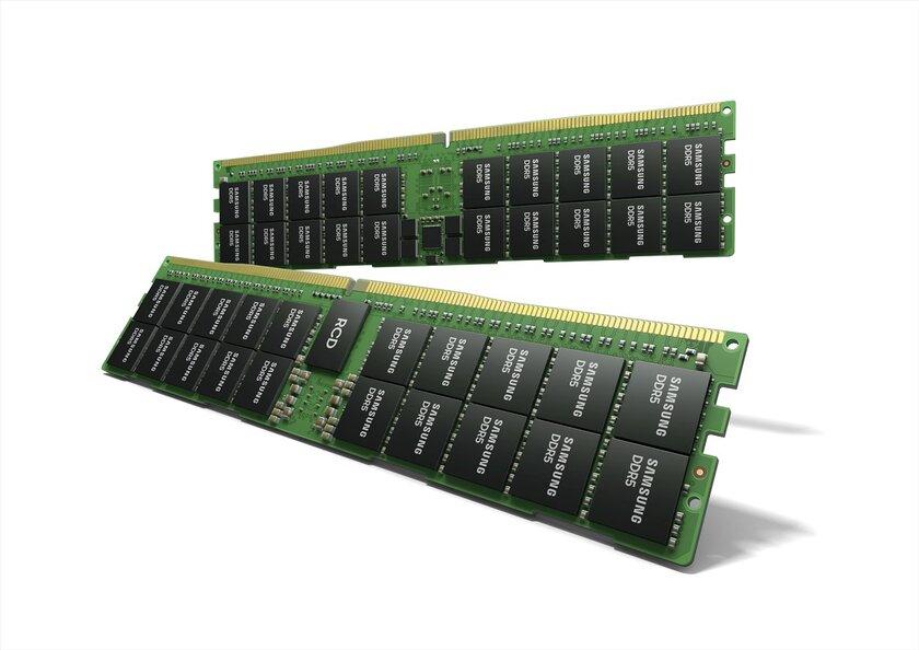 Samsung представила новую оперативную память: DDR5 на512 ГБ одной планкой
