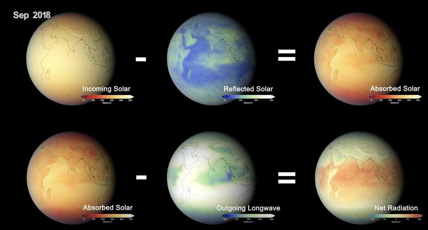 Исследование NASA подтвердило влияние людей наэнергетический баланс Земли