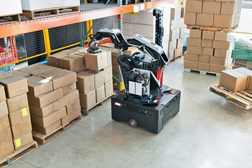 Первый подкрылом Hyundai: Boston Dynamics представила промышленного робота Stretch