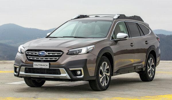 Новый Subaru Outback вышел наевропейский рынок через два года после американского дебюта