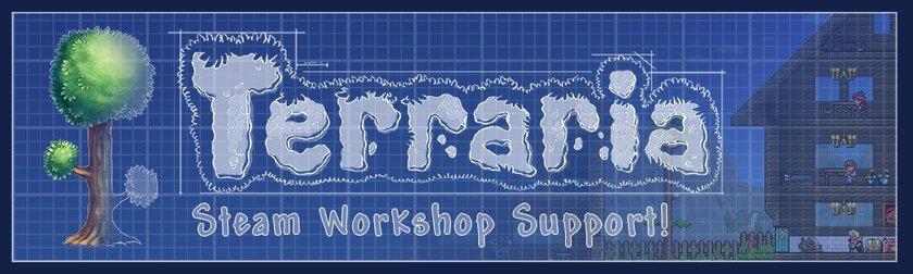 Terraria получила поддержку мастерской Steam: можно загружать свои миры итекстуры