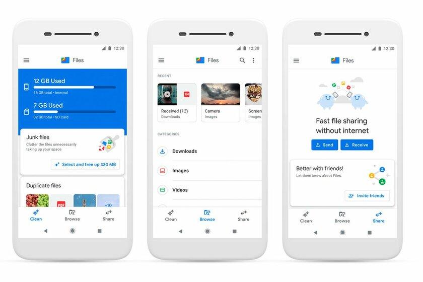 Официальный файловый менеджер дляAndroid скачали миллиард раз только изGoogle Play