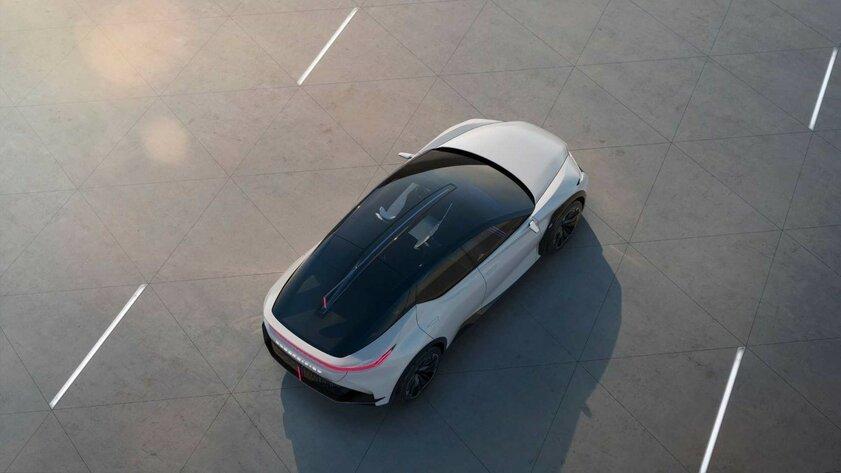 Lexus показала концепт-кар LF-Z: это будущее электрокаров компании