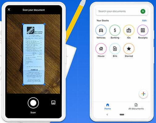 Новое экспериментальное приложение отGoogle дляAndroid использует ИИ длясканирования документов
