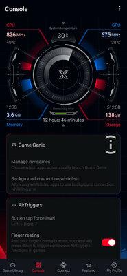 Сторонние прошивки теперь поддерживают сенсорные курки вигровом смартфоне ASUS ROG Phone II