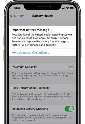 iOS 14.5 научит iPhone выполнять перекалибровку аккумулятора длявосстановления производительности