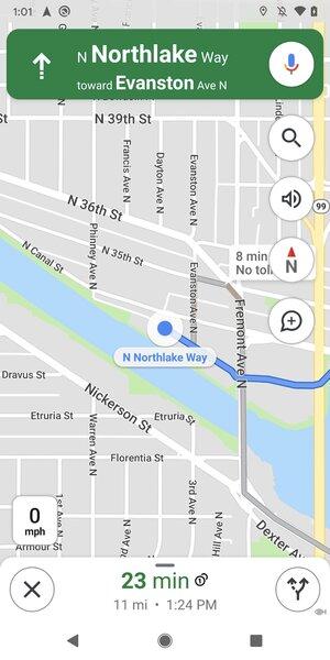 Пользователи Google Maps наAndroid заставили разработчиков вернуть компас