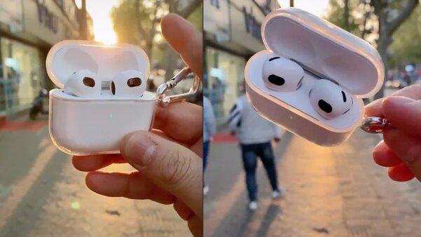 Китайцы обогнали Apple ипервыми выпустили AirPods 3