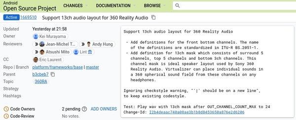 Google иSony работают надреализацией 360 Reality Audio вAndroid
