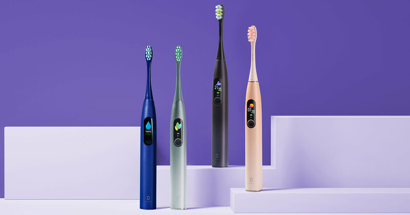 Выбираем зубную щётку: модели Oclean налюбой вкус