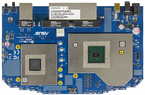 Дизайн космического корабля исоответствующая начинка. Обзор роутера ASUS RT-AX82U — Начинка. 4