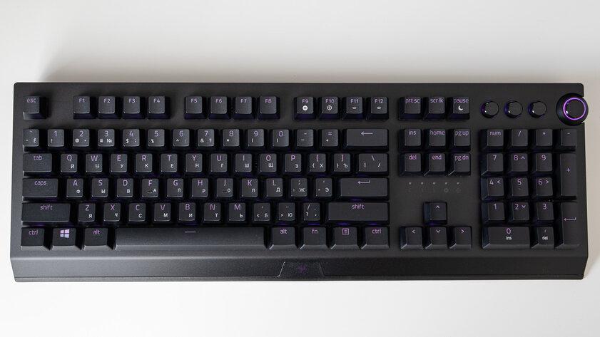 Гейминг может быть беспроводным: обзор клавиатуры Razer BlackWidow V3 Pro — Переключатели и производительность. 1