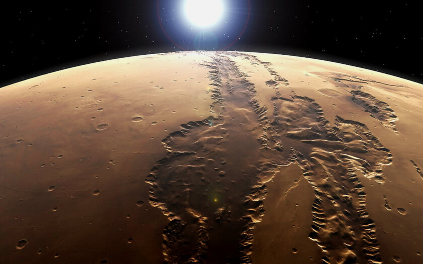 Why do they say Mars has two faces?  The mysterious history of the Red Planet