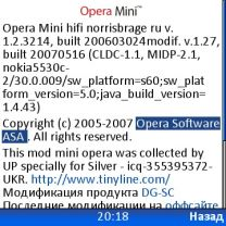 Opera Mini 1.2.3214