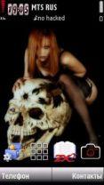 Skull W by Adnan
