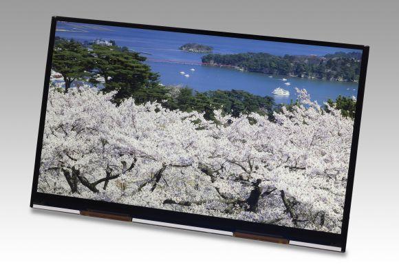 10.1-дюймовый Ultra HD дисплей отJapan Display