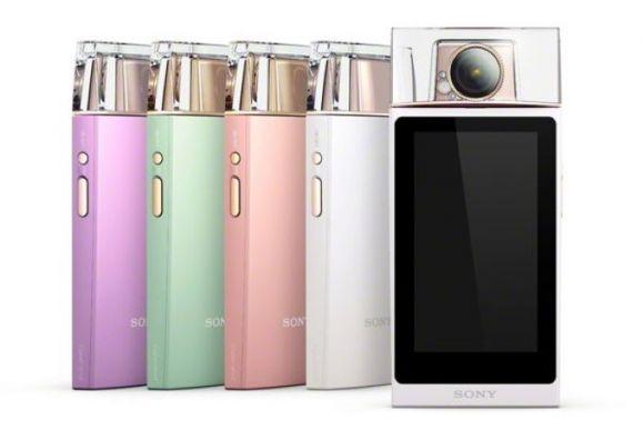 SONY Cybershot DSC-KW11 — модная селфи-камера в стиле флакона духов
