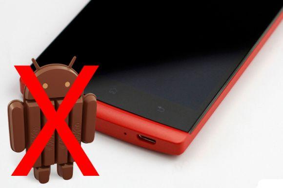 OPPO Find 5 не получит обновление Android 4.4 KitKat