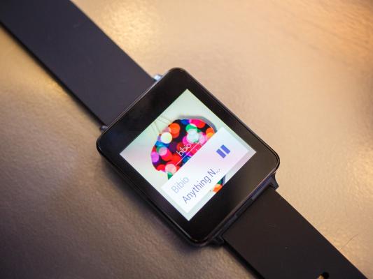 Умные часы LG G Watch получают обновление Android Wear 4.4W.2