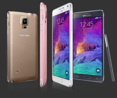 Samsung продала 4,5 миллиона Galaxy Note 4 за месяц