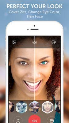 Looksery — новый видео-чат с пост-эффектами на iOS