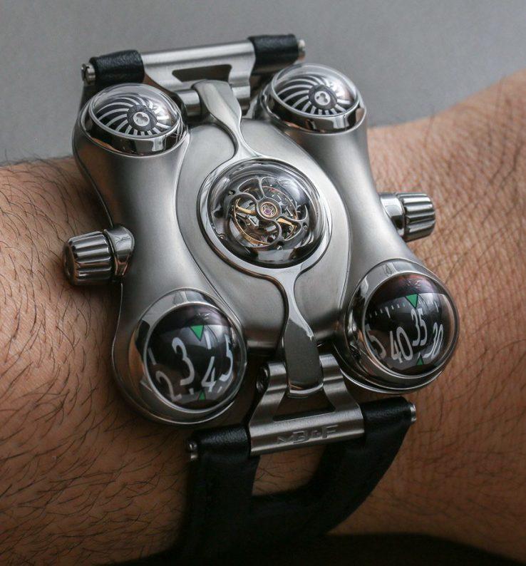386013c1e129 Часы MB&F HM6 Space Pirate