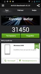 Обзор Micromax A350 Canvas Knight